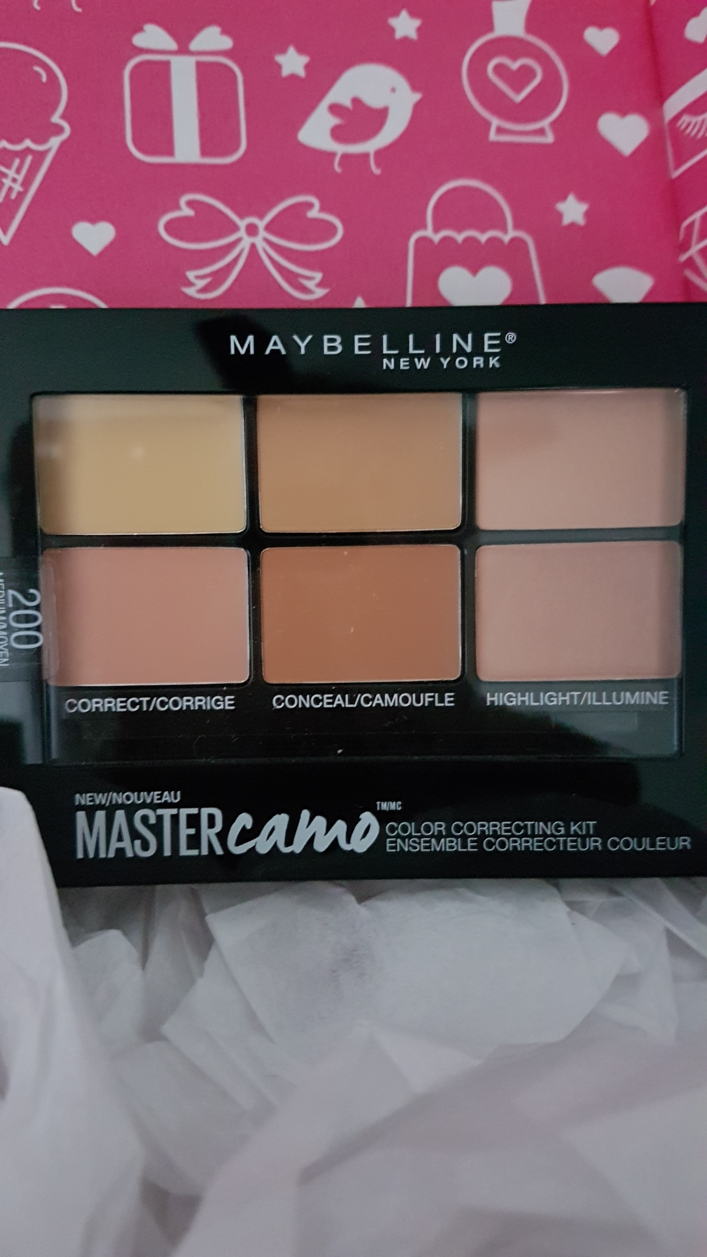 Facestudio Master Camo Color Correcting Kit - Light by Maybelline #18