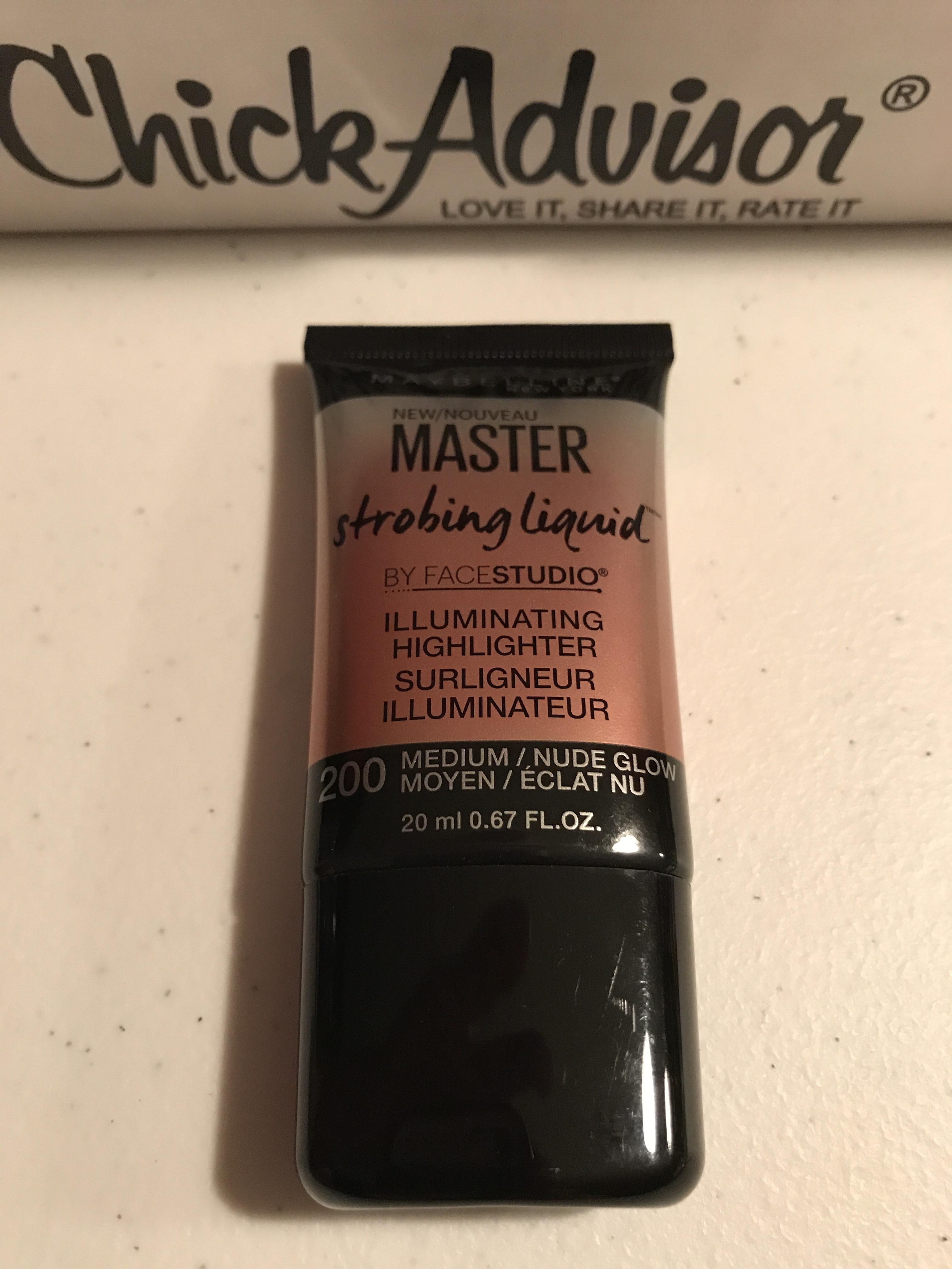 Maybelline New York Facestudio Master Strobing Liquid Illuminating Highlighter reviews ...