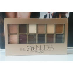 Maybelline New York The 24k Nudes Eyeshadow Palette