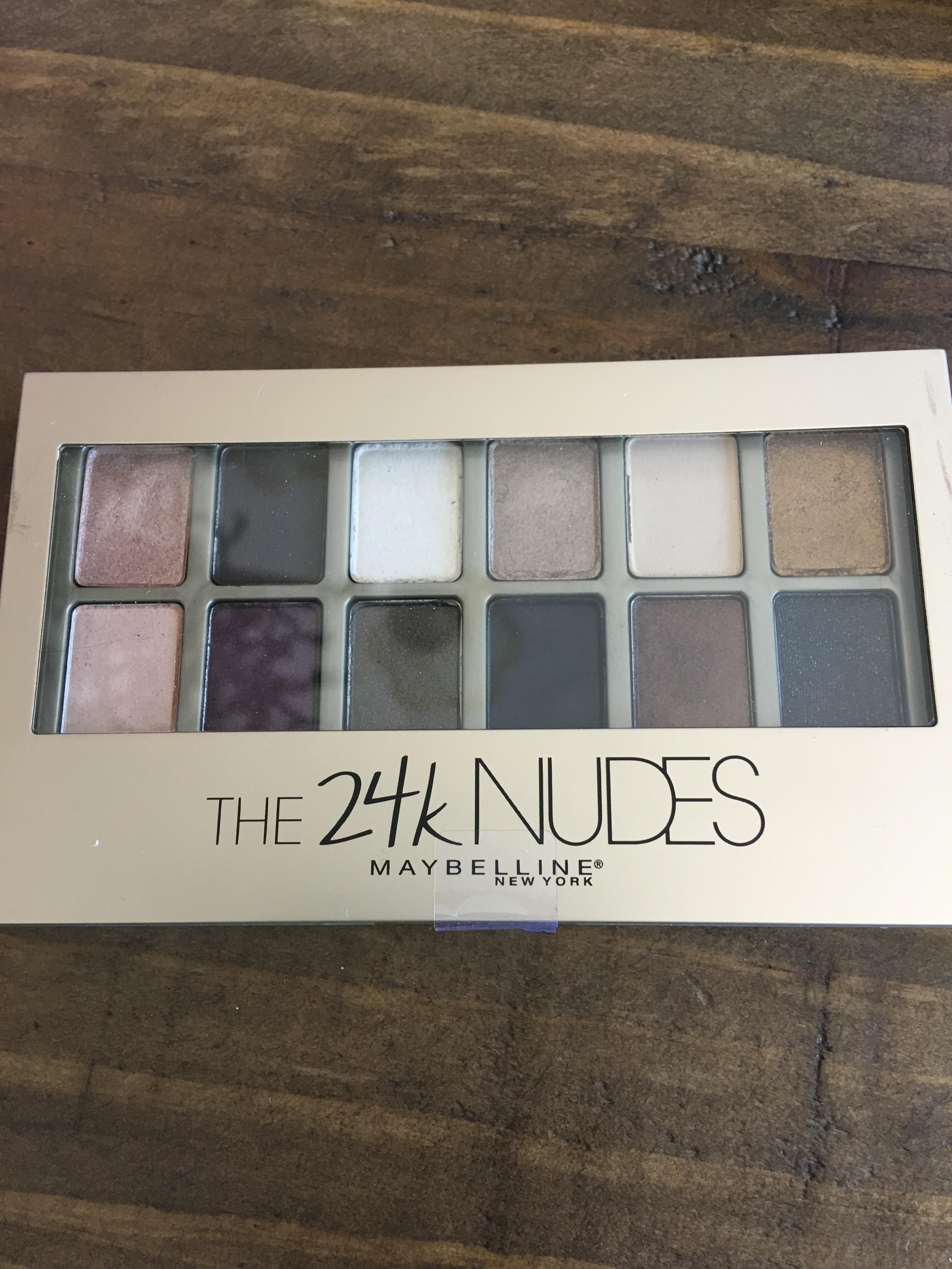 Maybelline New York The 24k Nudes Eyeshadow Palette