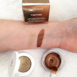 Tom Ford Cream and Powder Eye Color in Naked Bronze