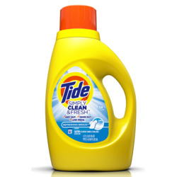 tide clean and fresh laundry detergent