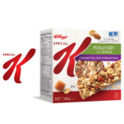 Special K Nourish with Quinoa Caramel Sea Salt & Mixed Nuts