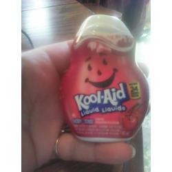 Kool-aid liquid cherry flavour