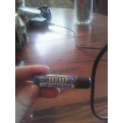Lipsmackers M & M chocolate