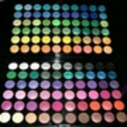 Manly 120 Professional Eyeshadow Palette #1