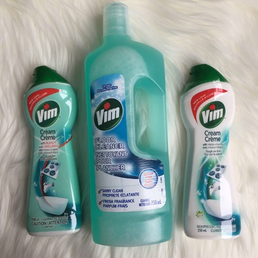 Vim Cream Cleaner in Eucalyptus Scent