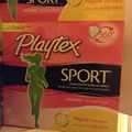 Playtex Sport Unscented Tampons