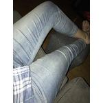 Jordache jeans 3/4 style ajuster