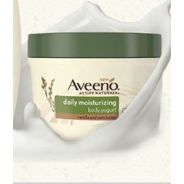 Aveeno Daily Moisturizing Body Yogurt Lotion, Vanilla and Oats