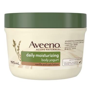 Aveeno Daily Moisturizing Body Yogurt Lotion, Vanilla and Oats