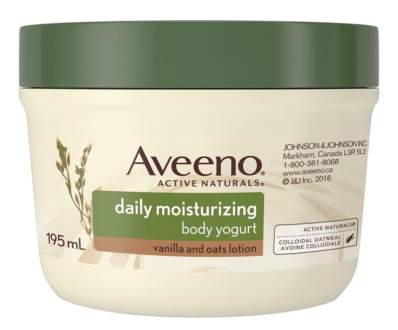 Aveeno Daily Moisturizing Body Yogurt Lotion Vanilla And
