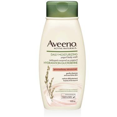 Aveeno Daily Moisturizing Yogurt Body Wash, Vanilla and Oats