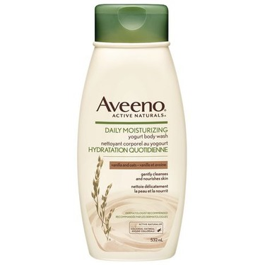 Aveeno Daily Moisturizing Yogurt Body Wash, Vanilla and Oats