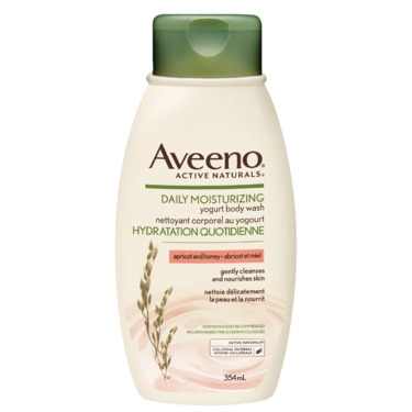 Aveeno Daily Moisturizing Yogurt Body Wash, Apricot and Honey