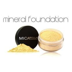 Micabella Cosmetics: Mineral Foundation in Cream Caramel