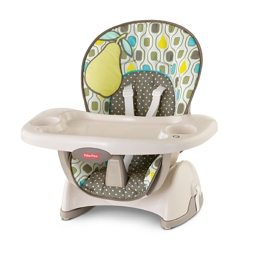 Fisher price space saver high chair reviews in highchairs for Chaise 4 en 1 fisher price