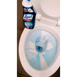 Lysol Disinfectant Toilet Bowl Cleaner Power