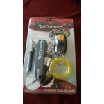 Pets Mum Dog Whistle and Clicker training kit