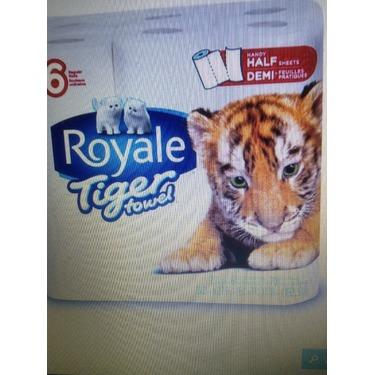 Royal Tiger paper towels