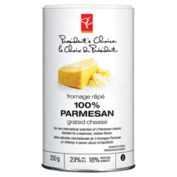 PC 100% Parmesan Grated Cheese