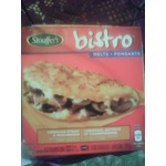 Stouffer's bistro melts chedder steak and mushroom