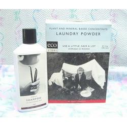 Eco Store laundry soap and hair shampoo