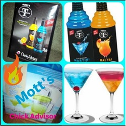 Mott's Mr & Mrs T Blue Raspberry Martini Cocktail Mix