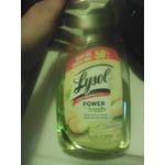 Lysol power fresh lemon scent
