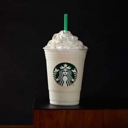Starbuck's Vanilla Bean Creme Frappuccino