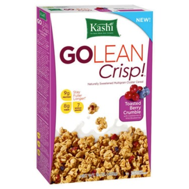 Kashi Go Lean Crisp Toasted Berry Crumble Cereal