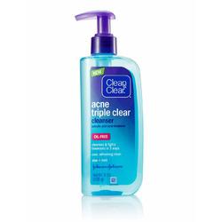 Clean & Clear Acne Triple Clear Gel Cleanser