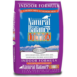 Indoor Ultra Chicken Meal & Salmon Meal Dry Cat Formula