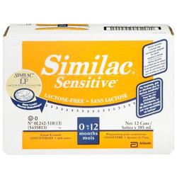 Similac Sensitive Lactose Free Concentrate