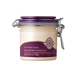 Body Shop Spa Wisdom Morocco Argan Oil & Orange Blossom Body Souffle