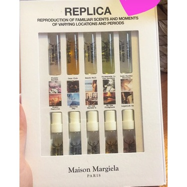 MAISON MARGIELA 'REPLICA' By The Fireplace