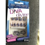Broadway nails ongles chic moderne à coller