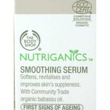 The Body Shop Nutriganics Smoothing Serum