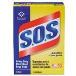 SOS scrubbing pads