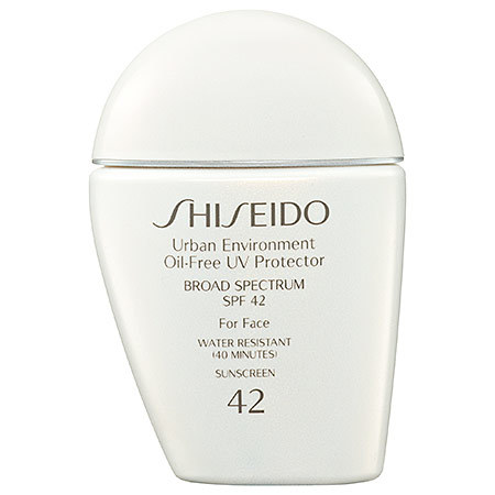Shiseido Urban Environment Oil Free Uv Protector Broad Spectrum Spf 42 For Face Reviews In Sun Protection Body Chickadvisor