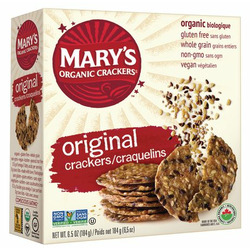 Mary's Organic Crackers Original Seed Crackers