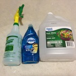 Blue Dawn and Vinegar Shower and Tub Cleaner