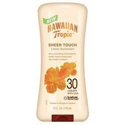 Hawaiian Tropic Sheer Touch Lotion Suncreen