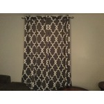 Exclusive Home Ironwork Blackout Thermal Grommet Top Window Curtain Panels, 52-Inch by 84-Inch, Black Pearl, Sold as Set of 2/Pair