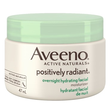 AVEENO® POSITIVELY RADIANT® Overnight Hydrating Facial