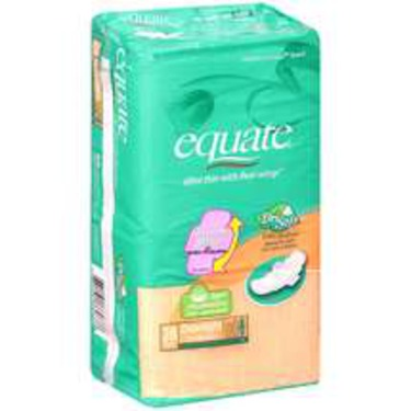 Equate Ultra Thin with Flexi-Wings Pads for Overnight
