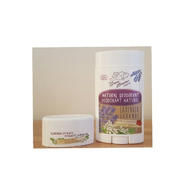 The Green Beaver company natural Deodorant Lavender