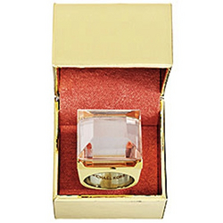 Michael Kors Very Hollywood Solid Perfume Cocktail Ring
