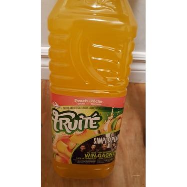 Fruite peach juice