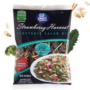 eat smart Strawberry Harvest salad